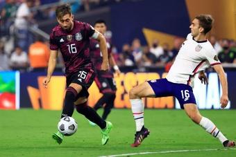 Héctor Herrera fue autocrítico tras perder la final de la Copa Oro. EFE