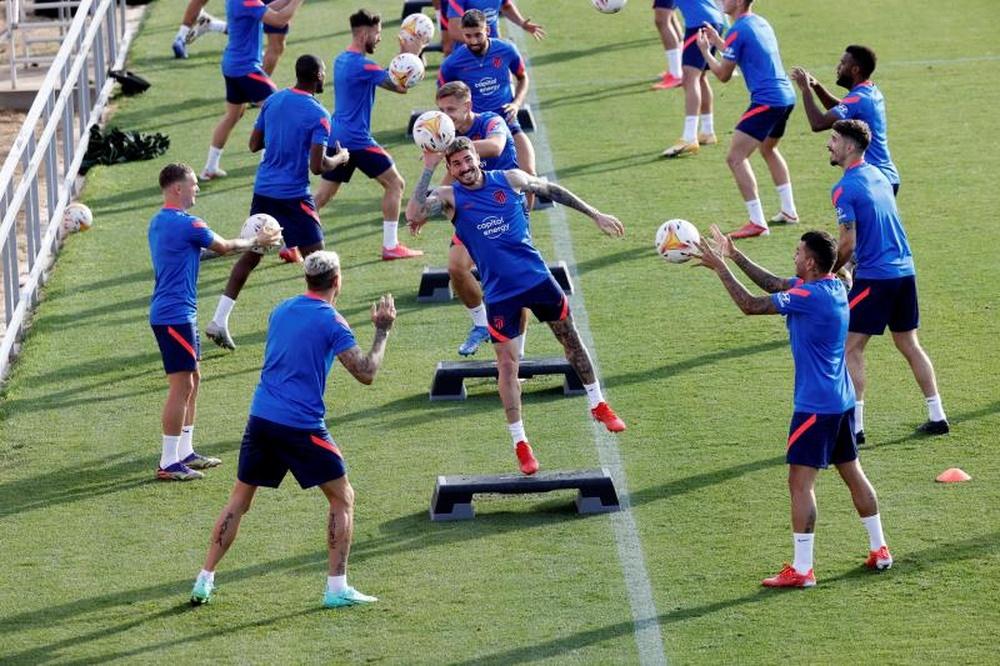 El Atlético de Madrid también aligera su filial. EFE/Archivo