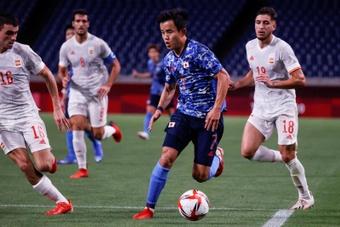 Japón perdió 1-0 ante Arabia Saudí. EFE