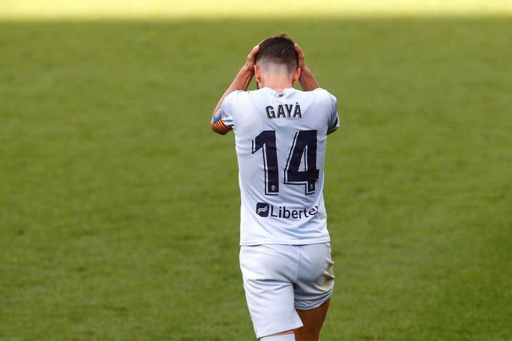 Bordalás confirmó los problemas físicos de Cheryshev y Gayà. EFE/Archivo