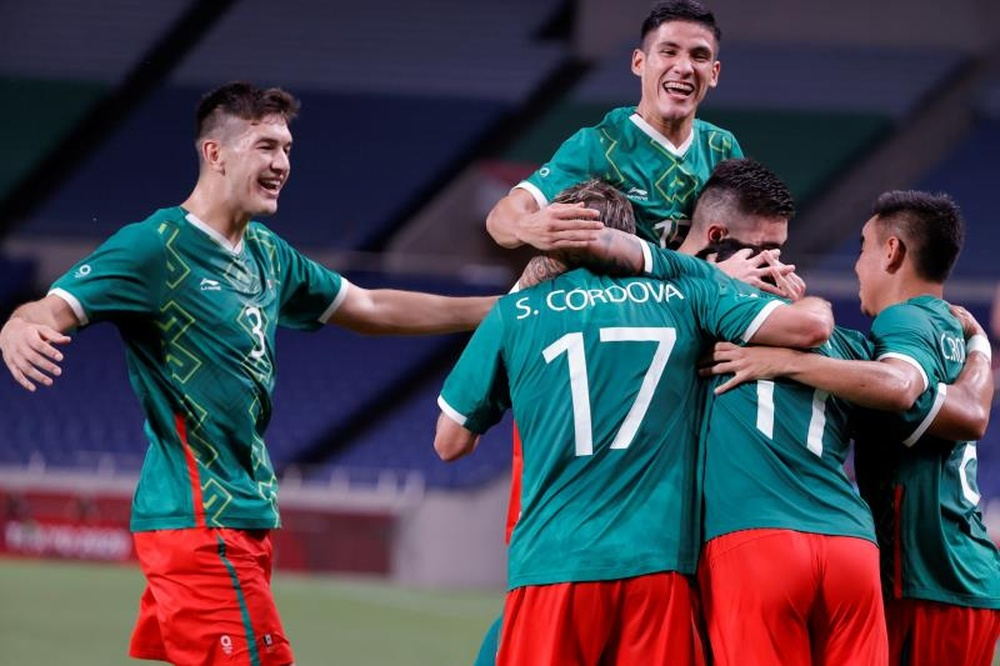 México leva o bronze nos Jogos Olimpicos ao vencer o Japão. EFE/Kai Försterling