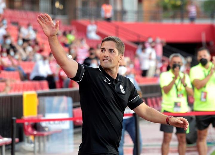 Robert Moreno revelou o seu amor pelo Barcelona. AFP