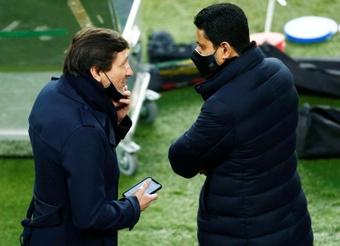 Leonardo envoie un message au Real Madrid. EFE