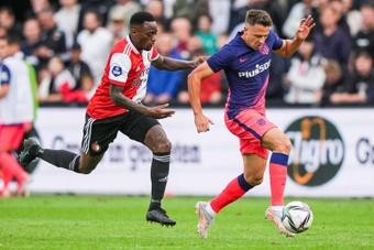 El Atleti cayó ante el Feyenoord. EFE