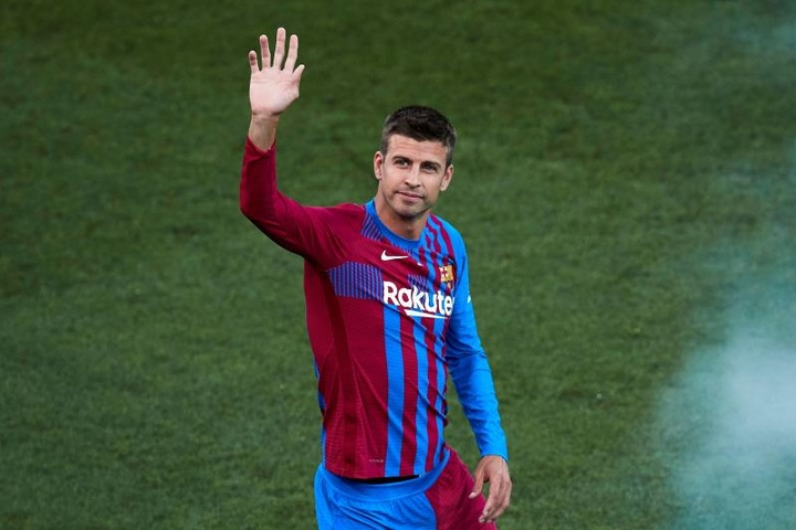 Gerard Pique revealed it would be very difficult to replace Lionel Messi. AFP
