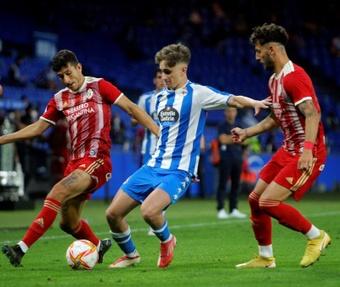 Noel López suena para jugar en el Madrid y el Atleti. EFE