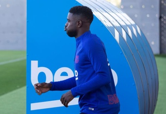 Samuel Umtiti's days at Barcelona are numbered. EFE