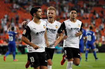 Carlos Soler quiere ser el Gerrard del Valencia. EFE