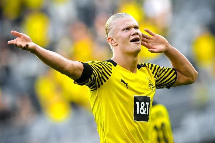 Dortmund et Haaland régalent pour leur entrée en Bundesliga. AFP