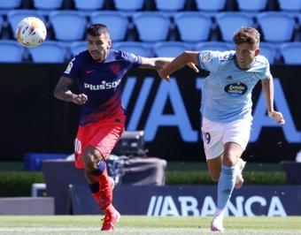 José Fontán sufrió un esguince en la rodilla izquierda. EFE