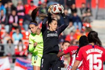 Lola Gallardo ha vuelto al Atlético de Madrid. EFE