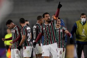 Fluminense toma el Arena Condá. EFE