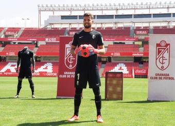 Luis Maximiano, en la lista de porteros favoritos del FC Barcelona. EFE