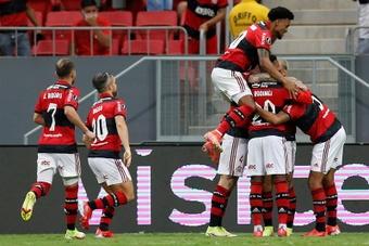 Flamengo es el tercer clasificado con dos partidos menos que Atlético Mineiro. Archivo/EFE