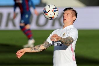 Boas notícias: Kroos está de volta. AFP