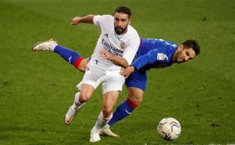 Il Real Madrid conquista i tre punti. EFE
