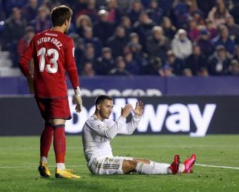 Hazard is not interested in Juventus. EFE