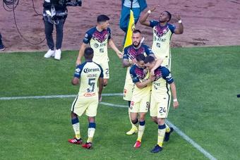 El América venció 1-0 a Tigres. EFE