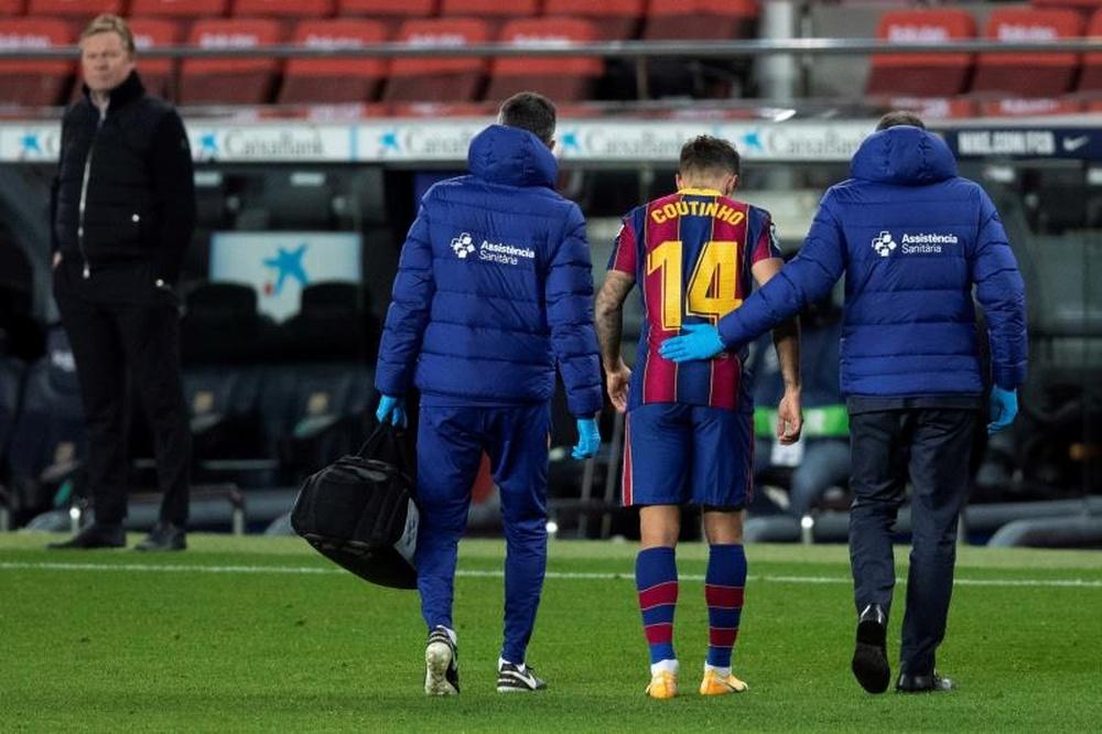 Le Barça doit encore payer 42 millions à Liverpool pour Coutinho. EFE