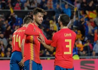 Le Barça revient dans la danse pour Gaya. EFE