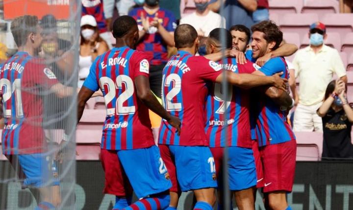 Acuerdo a la vista entre el Barcelona y el Tottenham por Emerson. EFE