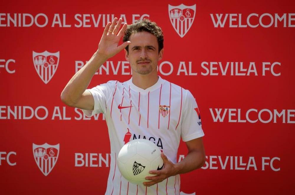 Delaney happy at Sevilla. EFE