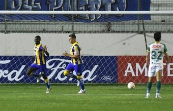 El Delfín sueña con la posibilidad de llegar a la Copa Sudamericana. EFE/Archivo