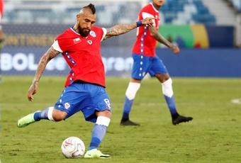 Vidal admitiu que o Chile vai para o tudo ou nada. AFP