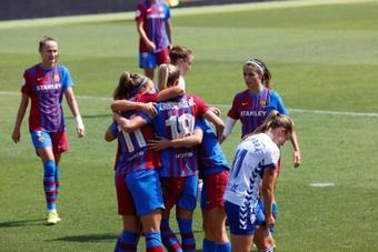 El Barça comenzó el curso como acabó el 20-21. EFE