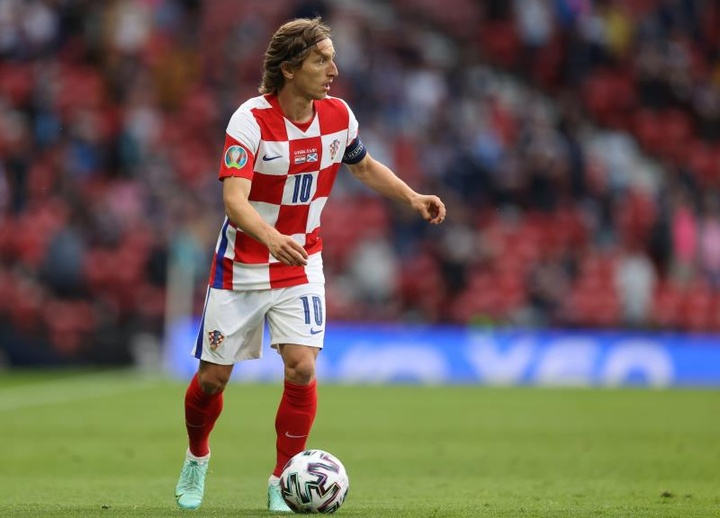 Modric regresó con Croacia. EFE/Archivo