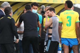El bochorno mundial en el Brasil-Argentina, protagonista en las eliminatorias sudamericanas. EFE