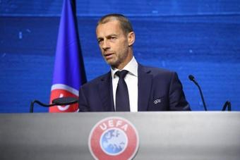 Ceferin attaque les dirigeants des clubs de la Super League. efe