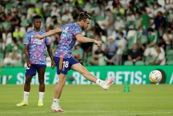 Bale est forfait pour affronter le Celta Vigo ce dimanche. EFE