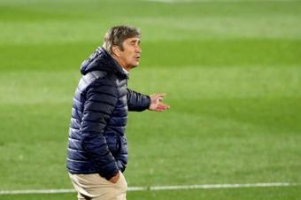 Pellegrini destacó la convicción de sus jugadores para remontar. EFE/Archivo