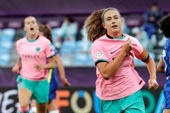 O Barça renova com Alexia Putellas até 2024. AFP