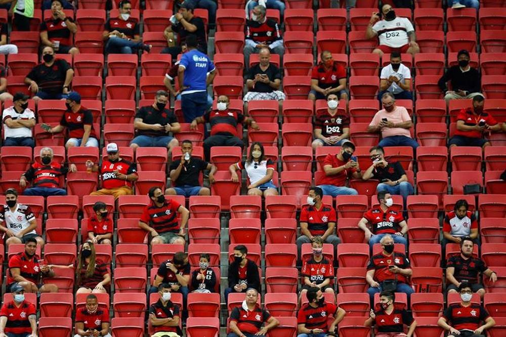 STJD derruba liminar do Flamengo por público nos estádios.EFE