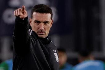 Scaloni, satisfecho con el juego de Argentina. EFE