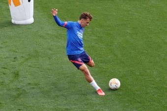 Griezmann foi convocado para o jogo do dia 12/09. EFE/ J.j. Guillén