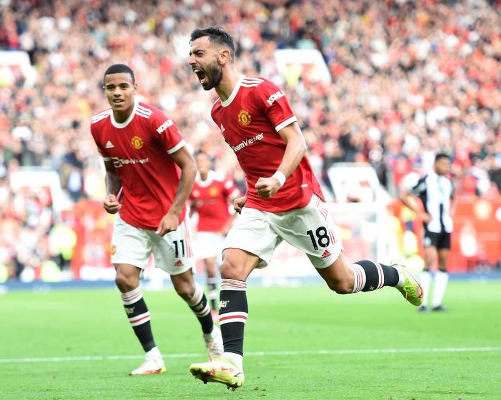 Bruno Fernandes' renewal a top priority for United. EFE