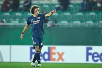 Le Real Madrid a tenté David Luiz. efe