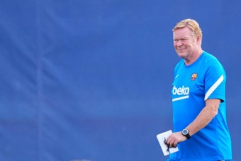 Koeman está viviendo un momento complicado en el Barça. EFE