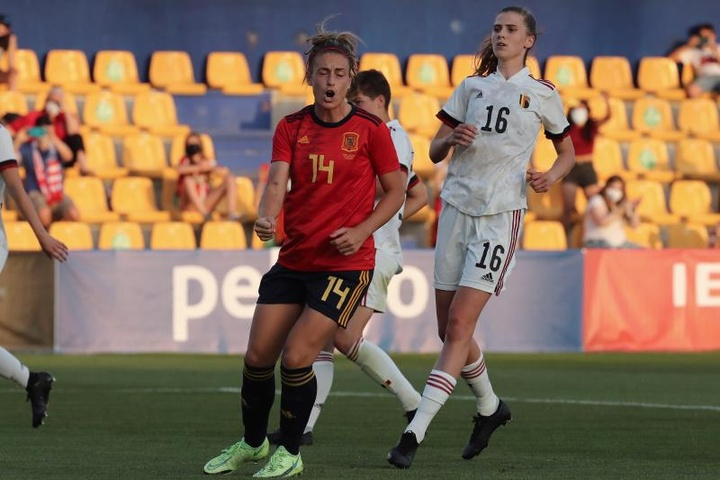 Alexia sigue haciendo historia con la Selección. EFE