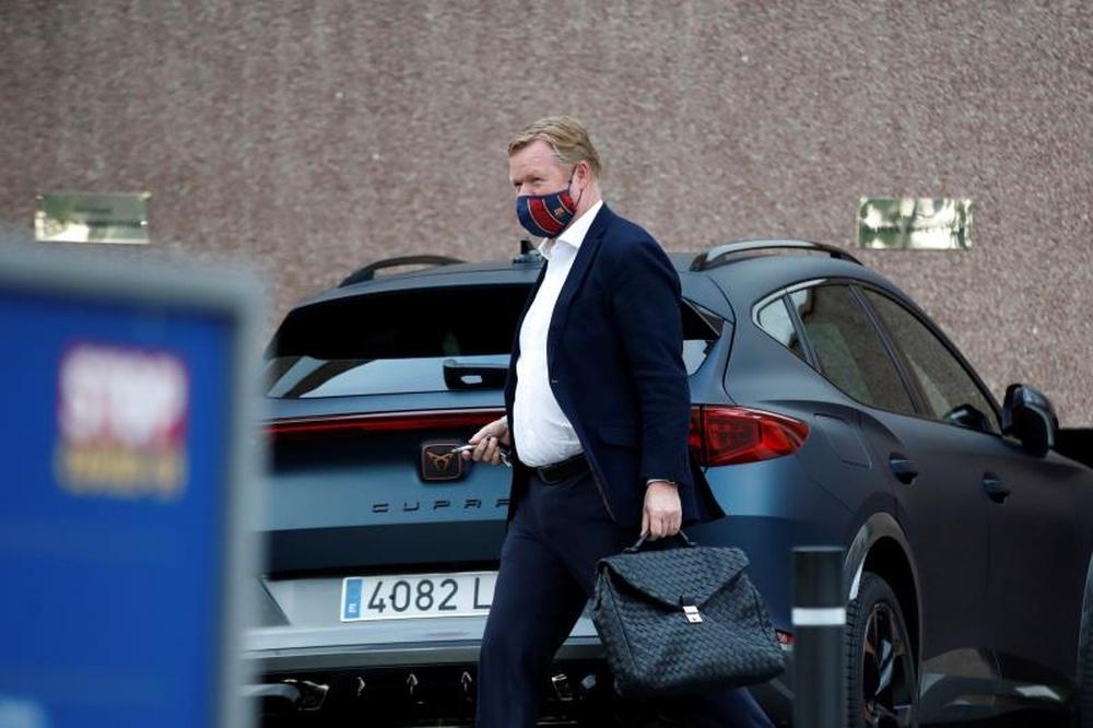 Laporta pudo dejar el Barça en cuanto Laporta fue presidente de nuevo. EFE