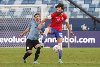 El Sevilla se ha fijado en Ben Brereton. AFP
