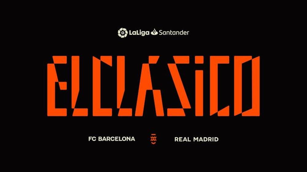 Confira o dia e a hora do clássico do Campeonato Espanhol. EFE/LaLiga