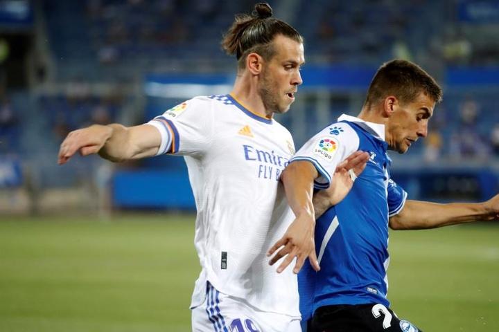 Gareth Bale podría volver al verde a finales de octubre. EFE