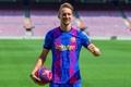 Luuk de Jong is set to leave Barcelona. EFE