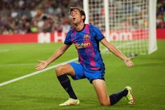 Sergi Roberto, con molestias musculares. EFE