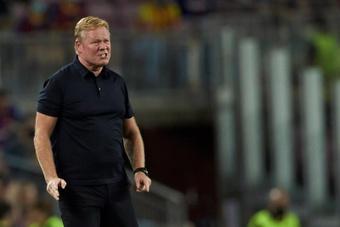 Le FC Barcelone a l'argent nécessaire pour licencier Koeman à tout moment. EFE