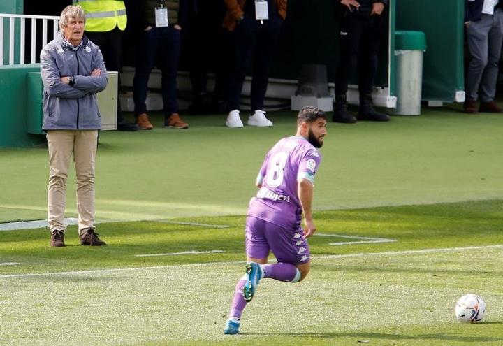 Fekir está muy contento en el Betis. EFE